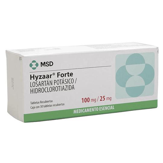 Hyzaar Forte 100 / 25 mg 30 comprimidos