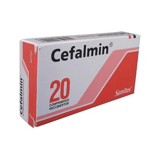 Cefalmin 20 comprimidos