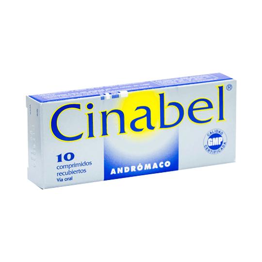 Cinabel 10 comprimidos