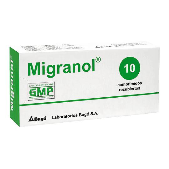 Migranol 10 comprimidos
