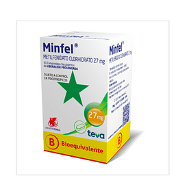 Minfel 27 mg 30 comprimidos