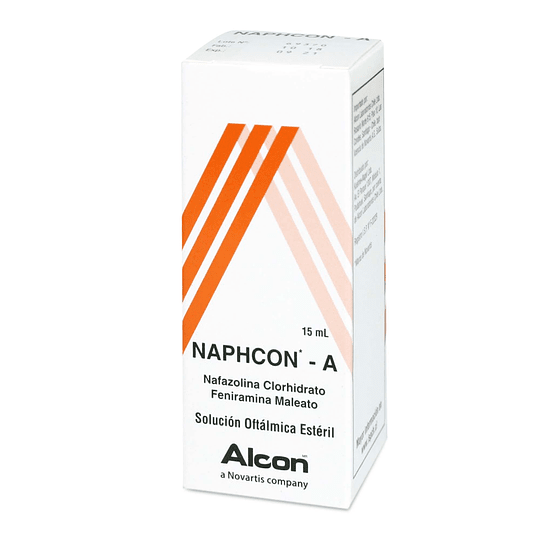 Naphcon A Solución oftálmica 15 ml