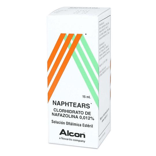 Naphtears 0,012 % Solución oftálmica 15 ml