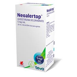 Neoalertop 2,5 mg / 5 ml Jarabe 120 ml