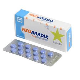 Neoaradix 5 mg 30 comprimidos