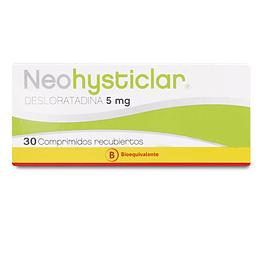 Neohysticlar 5 mg 30 comprimidos