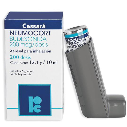 Neumocort 200 mcg Inhalador 200 dosis