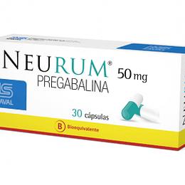 Neurum 50 mg  30 cápsulas