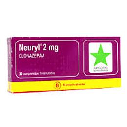 Neuryl 2 mg 30 comprimidos