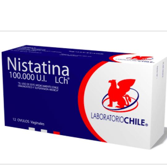 Nistatina 100.000 UI 12 comprimidos