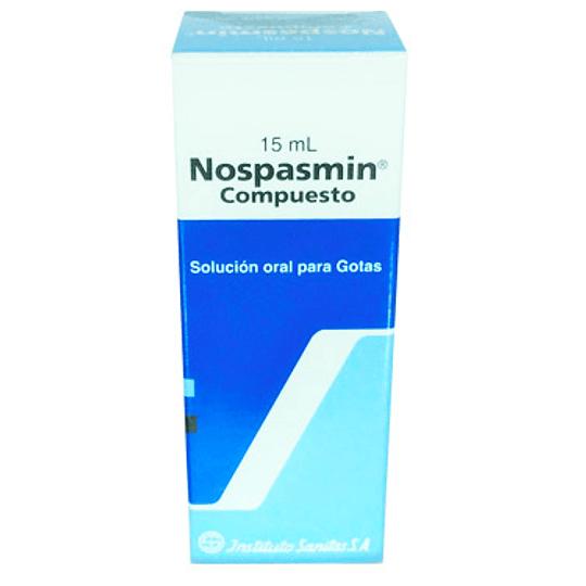 Nospasmin Compuesto Gotas 15 ml