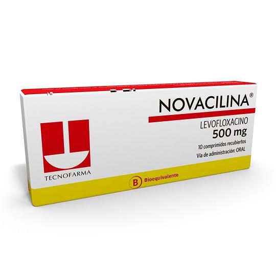 Novacilina 500 mg 10 comprimidos