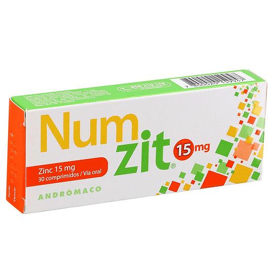 Num Zit 15 mg 30 comprimidos