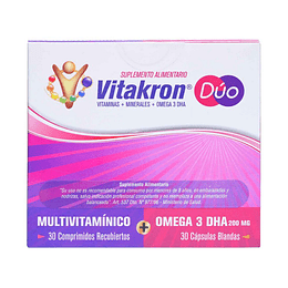 Vitakron DUO 30 cápsulas