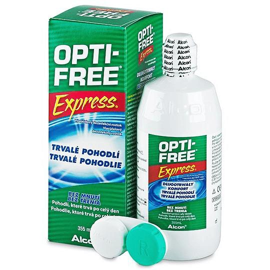 Opti-Free Express Solución 355 ml