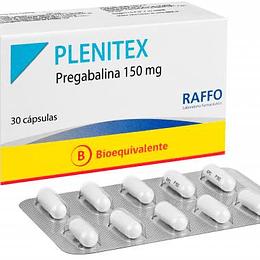 Plenitex 150 mg 30 comprimidos