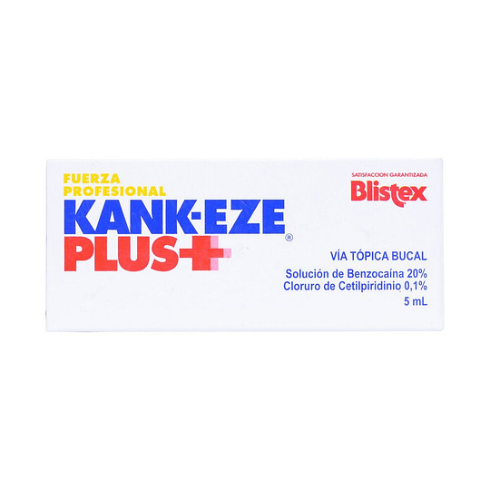 Kank-eze Plus Solución por 5 ml