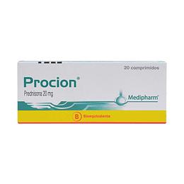 Proción 20 mg 20 comprimidos