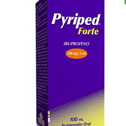 Pyriped Forte 200 mg Suspensión 100 ml