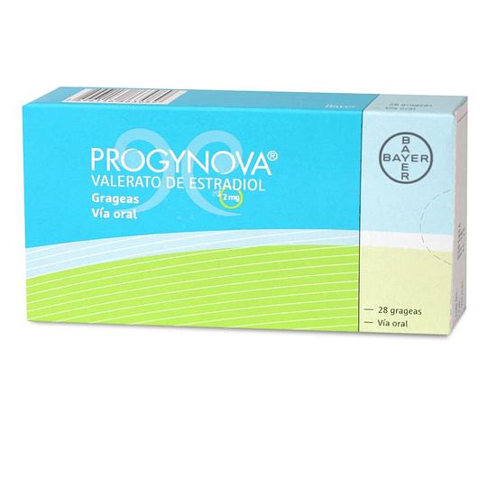 Progynova 2 mg 28 grageas