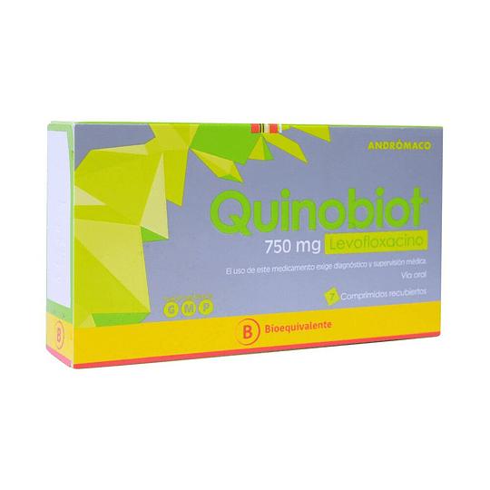 Quinobiot 750 mg 10 comprimidos