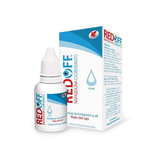Redoff 0,0125 % Solución oftálmica 15 ml