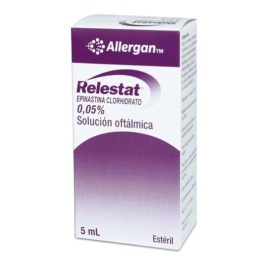 Relestat 0,05 % Solución oftálmica 5 ml