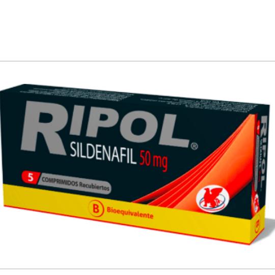 Ripol 50 mg 5 comprimidos