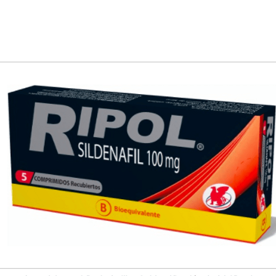 Ripol 100 mg 5 comprimidos