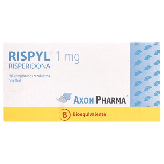 Rispyl 1 mg 20 comprimidos