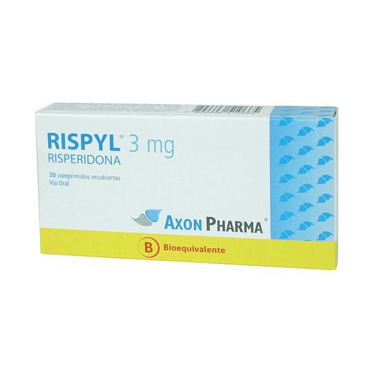 Rispyl 3 mg 20 comprimidos