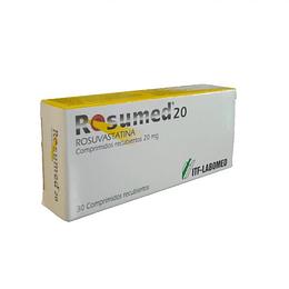 Rosumed 20 mg 30 comprimidos