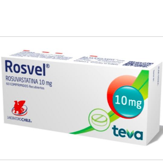 Rosvel 10 mg 60 comprimidos