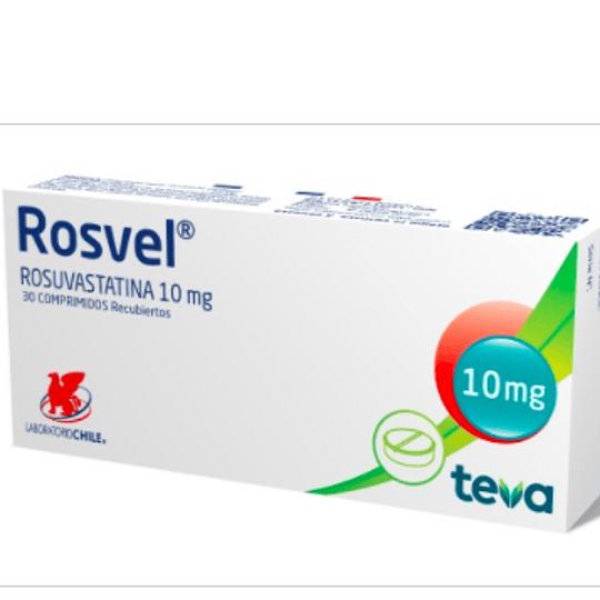 Rosvel 10 mg 30 comprimidos
