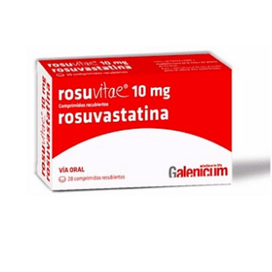 Rosuvitae 10 mg 28 comprimidos