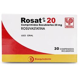 Rosat 20 mg 30 comprimidos