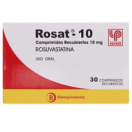 Rosat 10 mg 30 comprimidos