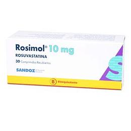 Rosimol 10 mg 30 comprimidos