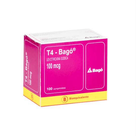 T4 100 mcg 100 comprimidos