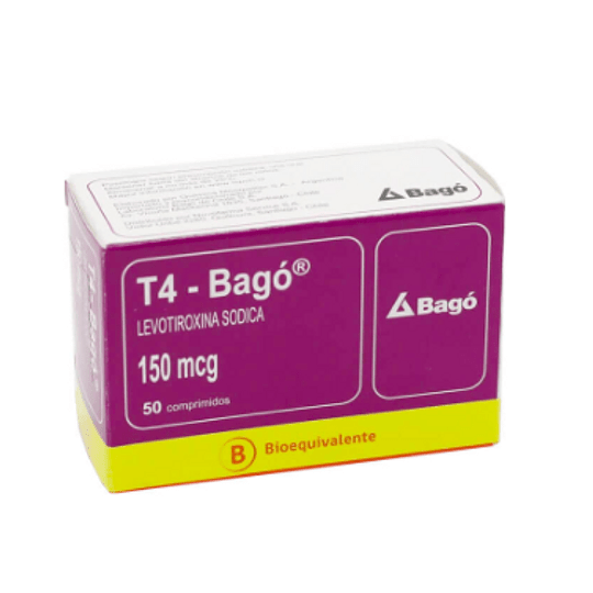 T4 150 mcg 50 comprimidos