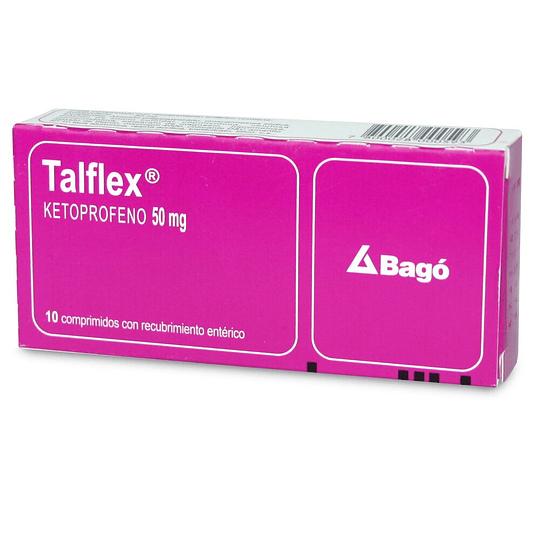 Talflex 50 mg 10 comprimidos