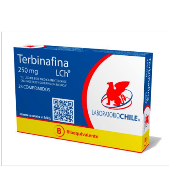 Terbinafina 250 mg 28 comprimidos