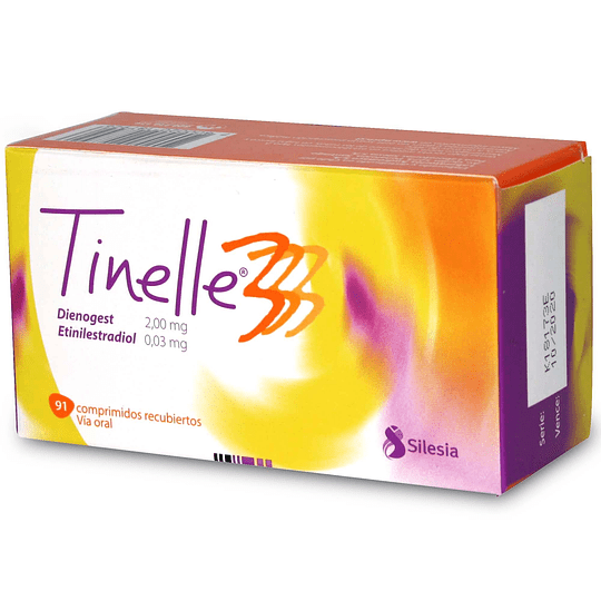 Tinelle 3, 91 comprimidos