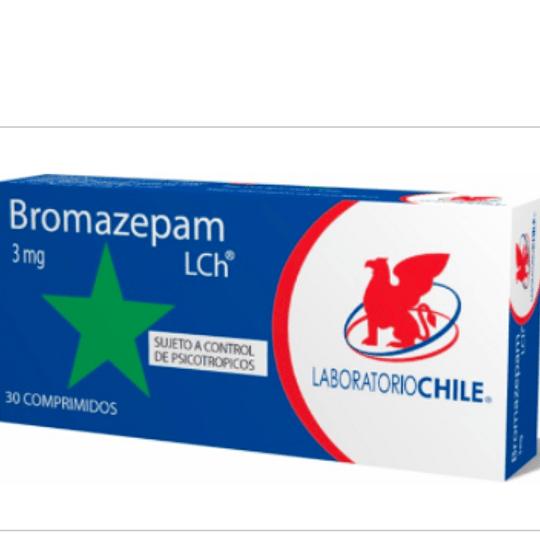 Bromazepam 3 mg 30 comprimidos