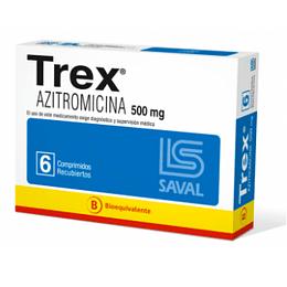 Trex 500 mg 6 comprimidos