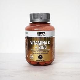 Vitamina C+ Zinc 90 cápsulas