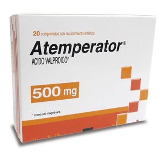 Atemperator 500 mg 20 comprimidos