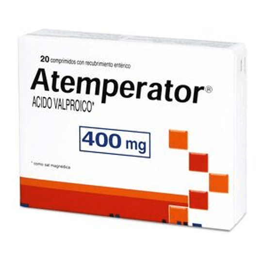 Atemperator 400 mg 20 comprimidos
