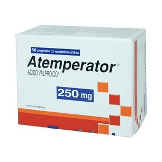 Atemperator 250 mg 50 comprimidos