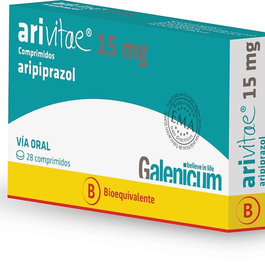 Arivitae 15 mg 28 comprimidos